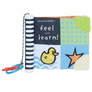 Amazing Baby™ Feel and Learn Soft Book