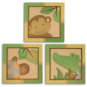 Papagayo Wall Decor (Set of 3)