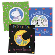 Sandra Boynton Lap Book Set (Set of 3)