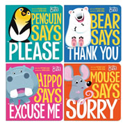 First Manners Board Book Set (Set of 4)