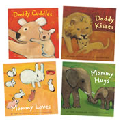 Hugs & Kisses Board Book Set (Set of 4)