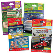 Reading Comprehension Interactive Games - Grades 2-3 (Set of 4)