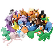 ABC Animal Jamboree Puppet Set
