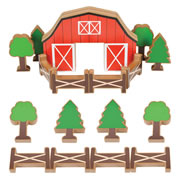 Chunky Farm Building Blocks