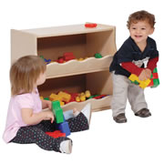 Toddler Double Storage Unit