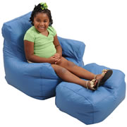 Cozy Chair and Ottoman