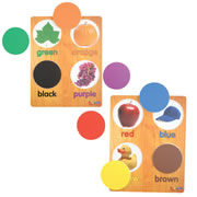 Lift & Learn Color Puzzles (Set of 2)