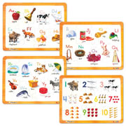 ABCmouse.com Puzzle Set: ABCs + 123s (Set of 4)