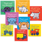 Touchy - Feely Book Set (Set of 8)