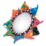 Color Burst Baby Mirror