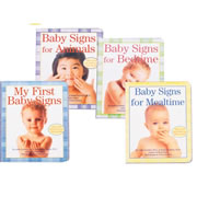 Baby Sign Language Board Books (Set of 4)