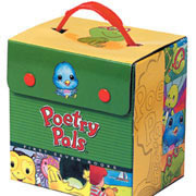 Poetry Pals®/Little Ben Board Books and Carry Case