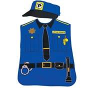 Police Officer Community Worker Play Smock