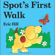 Spot's First Walk - Board Book