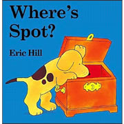 Where's Spot? - Board Book