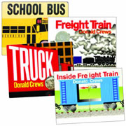 Donald Crews Board Books (Set of 4)