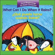 What Can I Do When It Rains? - Board Book