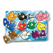 Fish Colors Mix N Match Puzzle