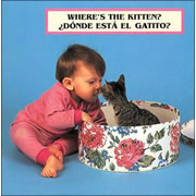 Where's the Kitten? - Board Book