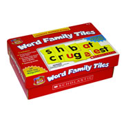 Little Red Tool Box Word Family Tiles, K-2