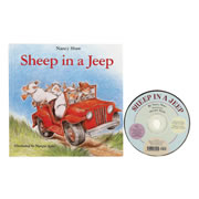 Sheep in a Jeep Book and CD