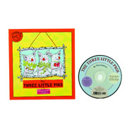 Three Little Pigs Book and CD