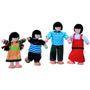 Asian Doll Family
