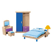 Bedroom Doll House Furniture Group (7 pieces)