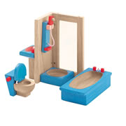Bathroom Doll House Furniture Group (4 pieces)