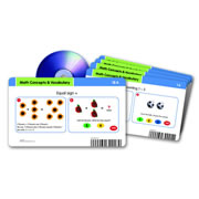 Math Concepts & Vocabulary Card Set