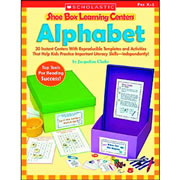 Alphabet Shoe Box Learning Center