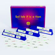 Syllabification Vocabulary Building Game
