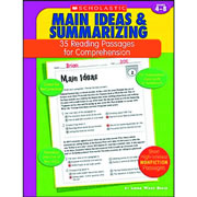 Main Ideas & Summarizing: 35 Reading Passages For Comprehension