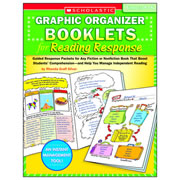 Graphic Organizer Booklets for Reading Response: Grades 4-6
