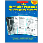 Hi-Lo Nonfiction Passages for Struggling Readers