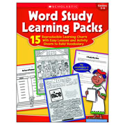 Word Study Learning Packs