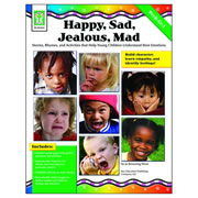 Happy, Sad, Jealous, Mad Book