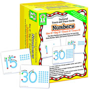 Textured Touch and Trace Cards Numbers