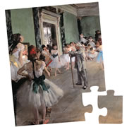 Degas the Dance Class 24 Piece Puzzle