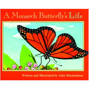 A Monarch Butterfly's Life - Paperback