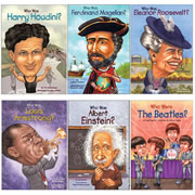 Who Was? Book Set 1 (set of 6)