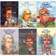 Who Was? Book Set 2 (set of 6)