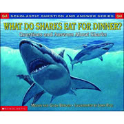 What Do Sharks Eat For Dinner - Paperback