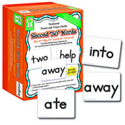 Textured Touch & Trace Cards - Second 30 Words
