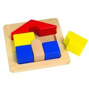 Chunky Puzzle - House
