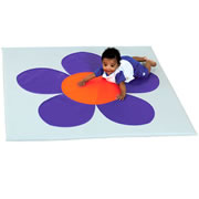 Purple Mist Flower Mat