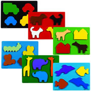 Beginner Chunky Puzzles (Set of 6)