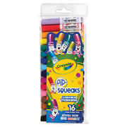 Crayola® 16-Pack Pip-Squeaks Markers (Single Box)