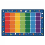 "Fun With Phonics Carpet 7'6"" x 12' (Factory Second)"