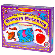 Elephants Never Forget - Memory Matching Game